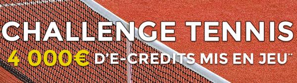 4000 € offerts tennis parionsweb
