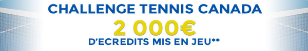 4000 € offerts challenge tennis canada parionsweb