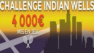 ParionsWeb tennis Challenge Indian Wells