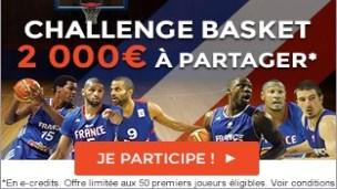 Pariez sur l'Euro Basket sur ParionsWeb