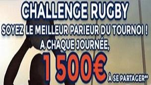 Six Nations de Rugby du 26 février au 19 mars sur ParionsWeb