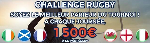 Challenge Six Nations sur ParionsWeb