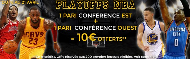 ParionsWeb : les Play-Offs de NBA