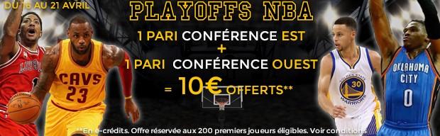 ParionsWeb : les Play-Offs de NBA