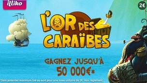 Le jeux FDJ Illiko L'or des Caraïbes