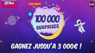 Le nouveau jeu de la FDJ : 100.000 surprises