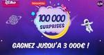 Grattez un ticket de 100.000 surprises de la FDJ