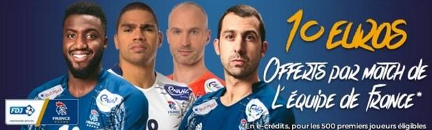 Mondial de Handball 2017 avec ParionsSport
