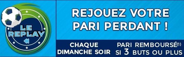 5€ remboursés sur le match de L1 du dimanche soir avec ParionsSport