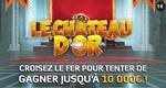 Jusqu'à 10.000€ à gagner avec le jeu Château d'Or de la FDJ