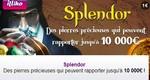 Le jeu de grattage Splendor de la Française des Jeux