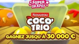 La FDJ vous propose de gratter un ticket de Coco'Trio
