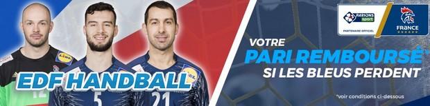 20€ remboursés par match des Bleus à l'Euro 2018 de handball