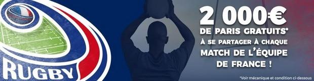 10.000€ mis en jeu par ParionsSport pour le Tournoi des 6 Nations 2018
