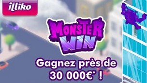 Le jeu de la FDJ Illiko Monster WIn