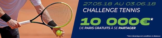 Misez sur le tournoi de Rolland Garros avec Parions Sport