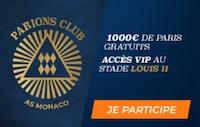 ParionsSport vous présente le ParionsClub AS Monaco