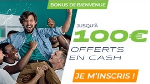 Code bonus de ParionsSport