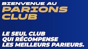 Parions Club de la FDJ sur ParionsSport