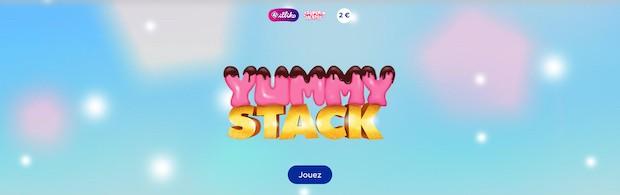 Ticket Illiko FDJ Yummy Stack