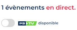Misez en direct sur ParionsSport